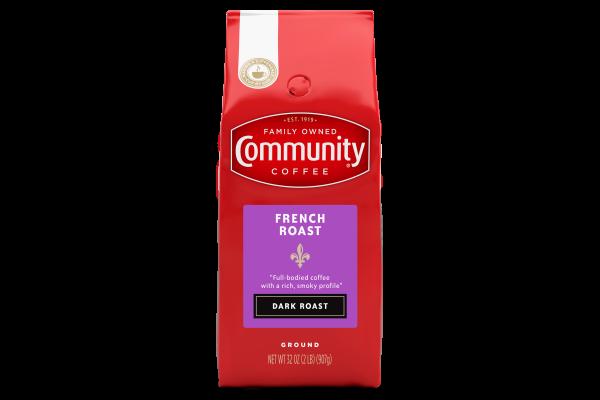 French Roast Ground Coffee 32 Oz